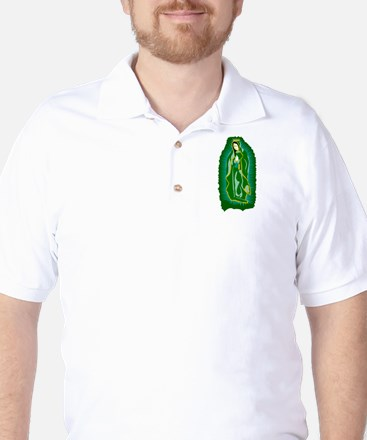 Our Lady of Guadalupe - Green Golf Shirt