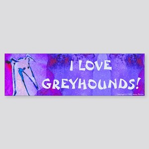 Blue Art GH Bumper Sticker