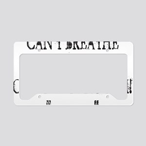 Cant Get Enough - White a License Plate Holder