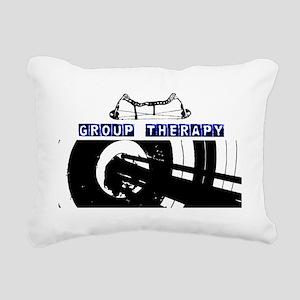 grouptherapy Rectangular Canvas Pillow