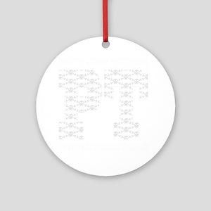 PT_White_new Round Ornament