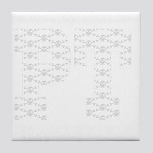 PT_White_new Tile Coaster