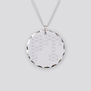 PT_White_new Necklace Circle Charm