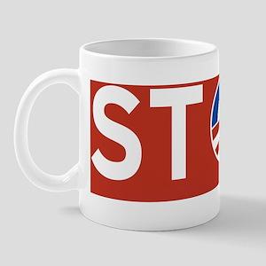 10x3_sticker_stop Mug