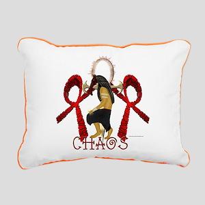 Chaos Set Rectangular Canvas Pillow