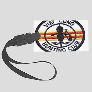 cong huny club Large Luggage Tag