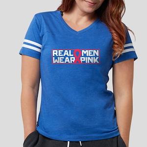 Real Men Wear Pink Womens Football Shirt