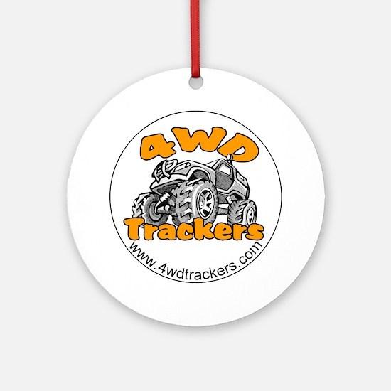 4wdtrackers round logo.gif Round Ornament