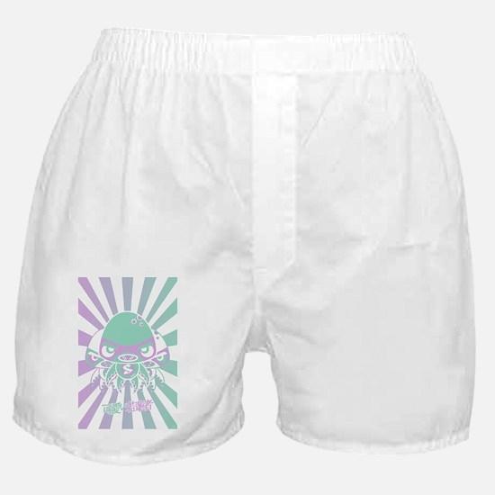 SwampPostcardStencil Boxer Shorts