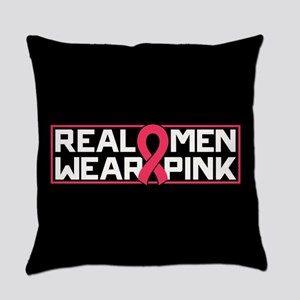 Real Men Wear Pink Everyday Pillow