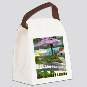 CastawayIsland Canvas Lunch Bag