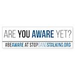 10 Pk Gangstalking Awareness Bumper Sticker - Ayay