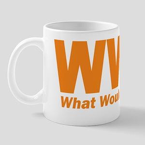 WWJD_clear Mug