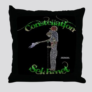 Constellation Sekhmet Throw Pillow
