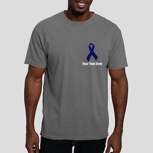 Police Support Ribbon Mens Comfort Colors Shirt