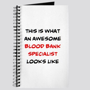 awesome blood bank specialist Journal