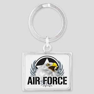 Air-Force-Eagle Landscape Keychain