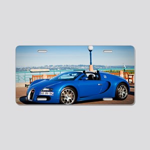 Bugatti5 Aluminum License Plate