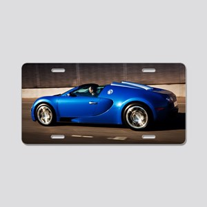 Bugatti8 Aluminum License Plate