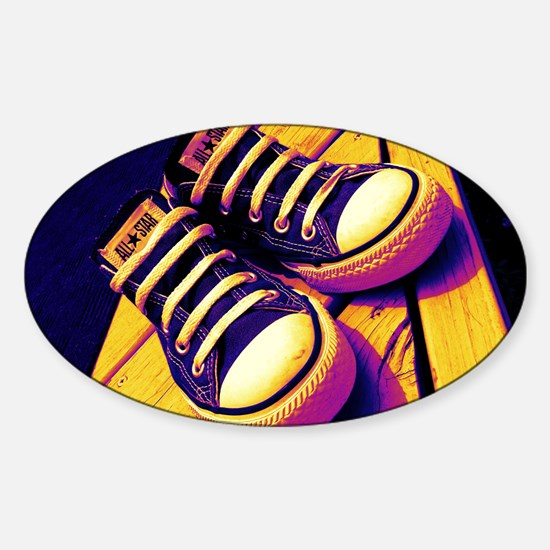 Converse Sticker (Oval)