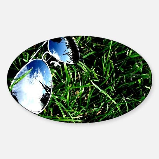Summer Shades Sticker (Oval)