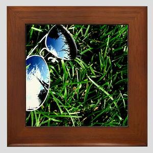 Summer Shades Framed Tile