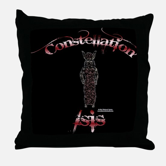 Constellation Isis Throw Pillow