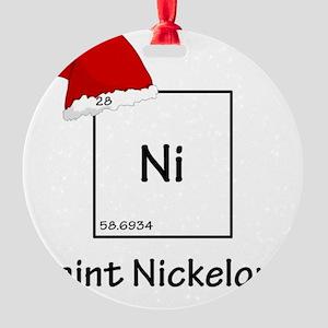 nickelhuge Round Ornament