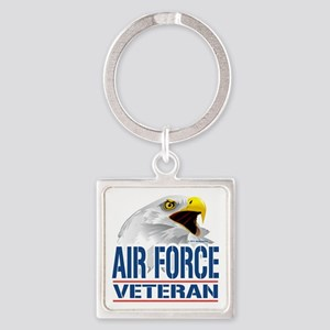 Air-Force-Eagle-Veteran Square Keychain