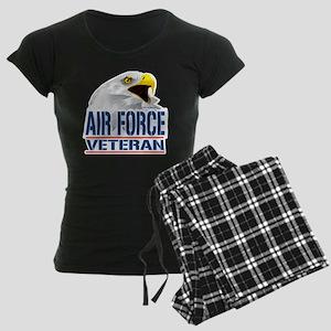 Air-Force-Eagle-Veteran Women's Dark Pajamas