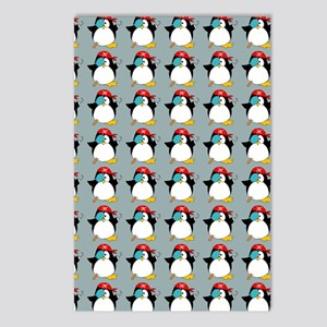 piratepenguinflipflips Postcards (Package of 8)