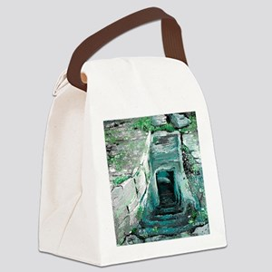 Empty Tomb by  LuAnn Burford Canvas Lunch Bag