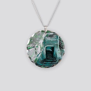 Empty Tomb by  LuAnn Burford Necklace Circle Charm