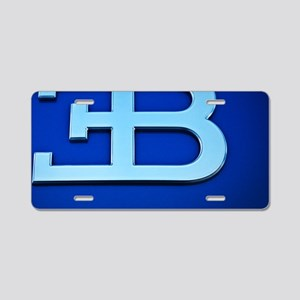 Bugatti3 Aluminum License Plate