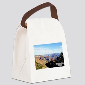 Grand Canyon Vista Canvas Lunch Bag