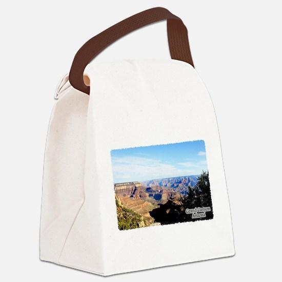 Grand Canyon Vista Canvas Lunch Bag