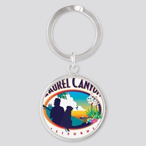 Laurel Canyon Logo Round Keychain