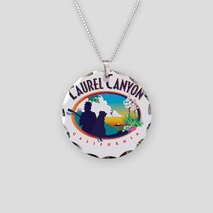 Laurel Canyon Logo Necklace Circle Charm