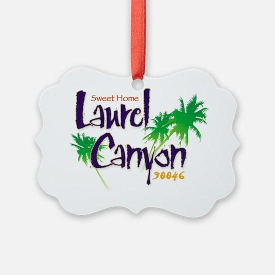 Sweet Home Laurel Canyon Logo Ornament