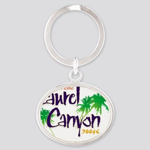 Sweet Home Laurel Canyon Logo Oval Keychain