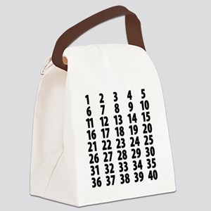 Countdownplain Canvas Lunch Bag