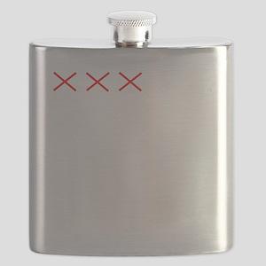 Countdownwhitecross Flask