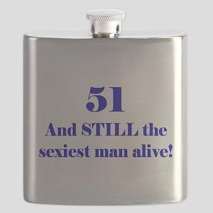 51 Still Sexiest 2 Blue Flask
