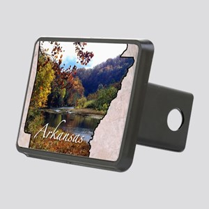 ArkansasMap28 Rectangular Hitch Cover