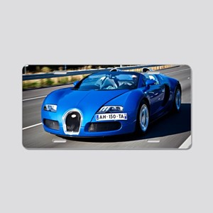 Bugatti9 Aluminum License Plate