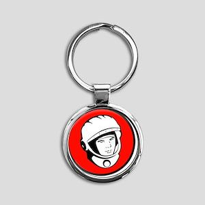 Astro Round Keychain