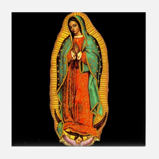 Mary - Virgin of Guadalupe  Tile Coaster