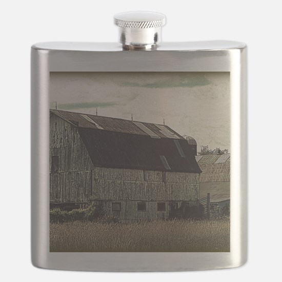 Antique Barn Flask