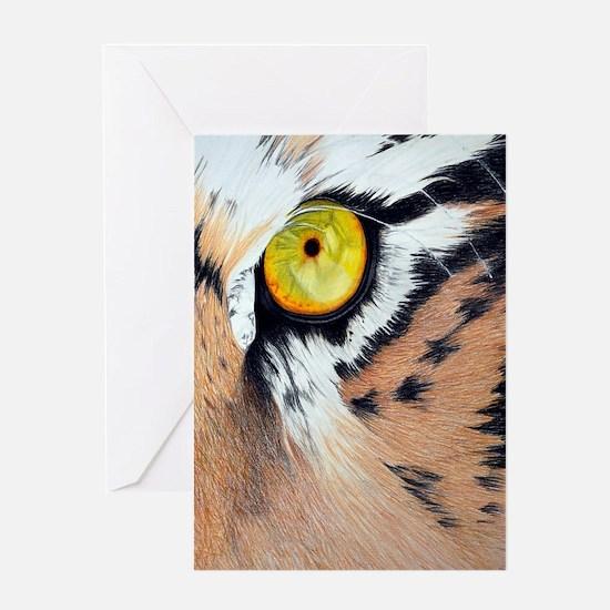 tiger eye journal Greeting Card