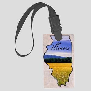 Illinois Large Luggage Tag